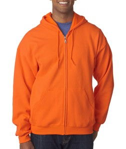 Gildan® Heavy Blend™ Adult Full-Zip Hooded Sweatshirt - Style: 18600