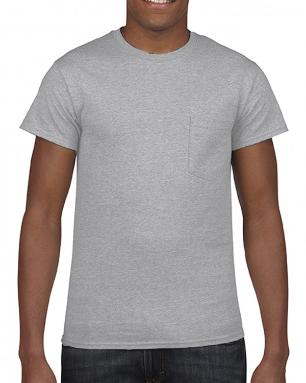 Gildan® Heavy Cotton™  Adult Pocket T-Shirt Style: 5300