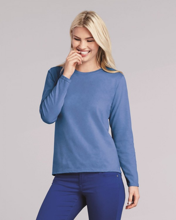 Gildan® Heavy Cotton™  Ladies' Long Sleeve T-Shirt Style: 5400L