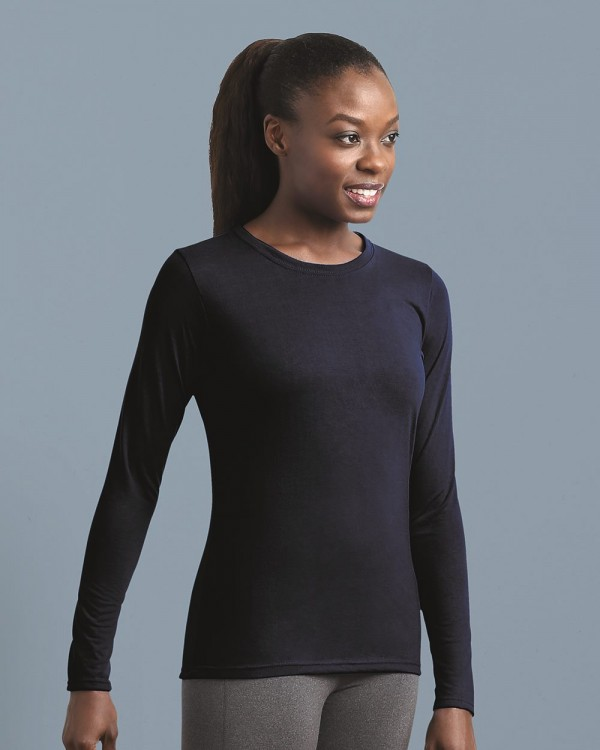 Gildan Performance®  Ladies' Long Sleeve T-Shirt Style: 42400L
