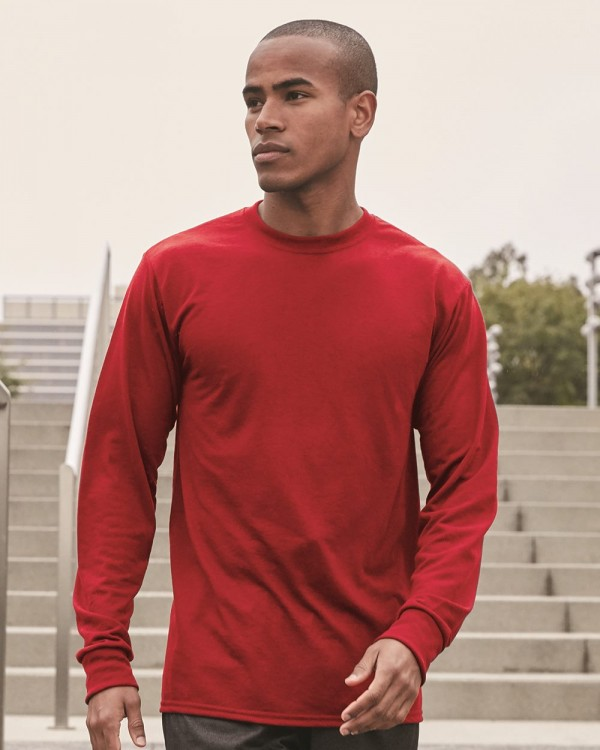 Jerzees DRI-POWER® Long-Sleeve Poly T-Shirt - Style: 21MLR