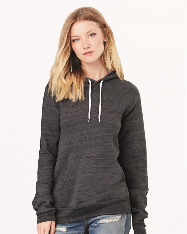 Bella + Canvas Unisex Hooded Pullover Sweatshirt - Style: 3719