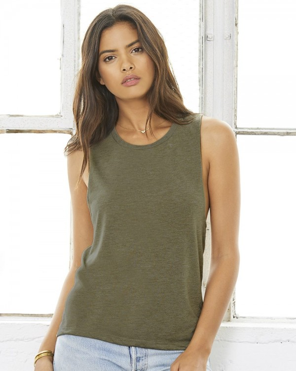 Bella + Canvas Women's Flowy Muscle Tank Top - Style: 8803