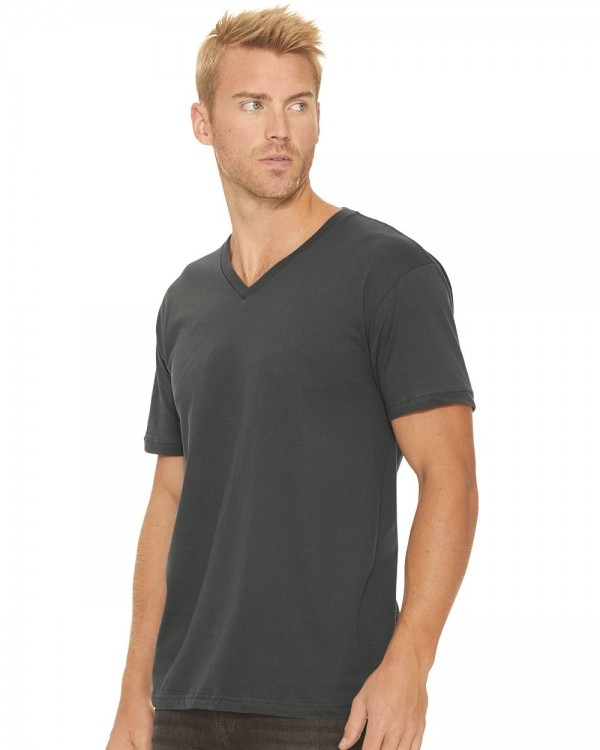 Next Level Premium Short Sleeve V Neck T-Shirt - Style: 3200
