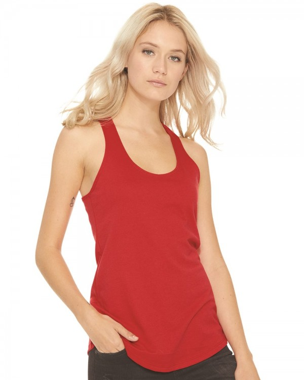 Next Level Women's Terry Racerback Tank Top - Style: 6933