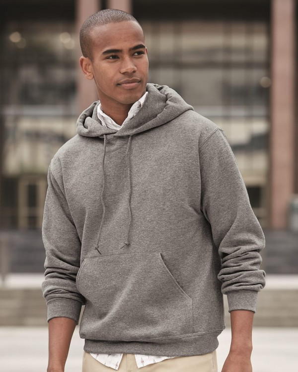 Jerzees Super Sweats® NuBlend® Hooded Sweatshirt - Style: 4997MR