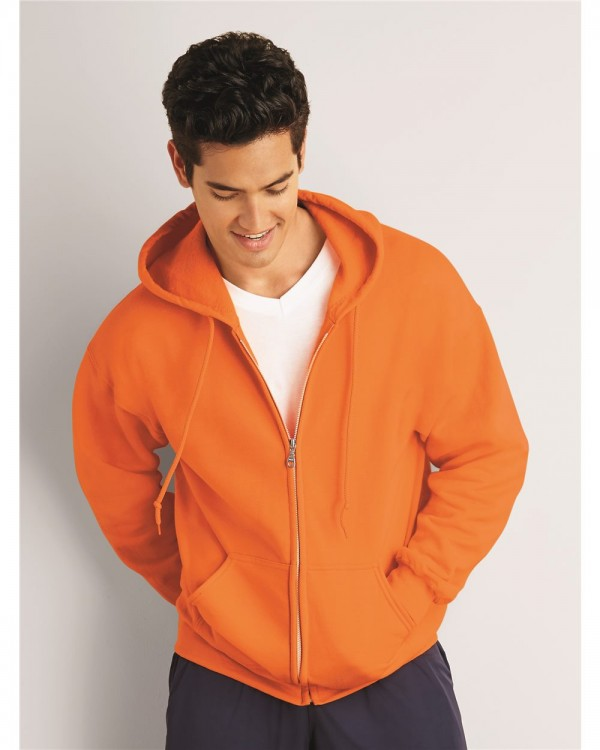 Gildan® DryBlend®  Adult Full Zip Hooded Sweatshirt - Style: 12600
