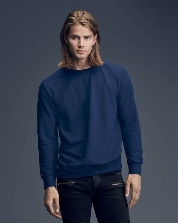 Anvil Crew Neck French Terry Sweatshirt - Style: 72000
